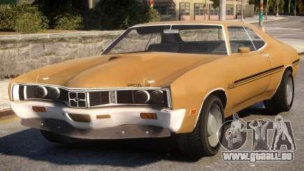 1970 Mercury Cyclone Spoiler pour GTA 4