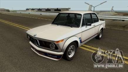 BMW 2002 Turbo (E10) 1973 pour GTA San Andreas