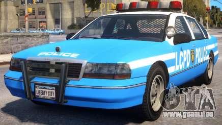 Declasse Premier Police Cruiser für GTA 4