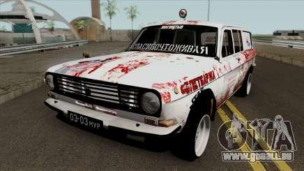 GAZ Wolga 24-12 Militär-Klassiker für GTA San Andreas