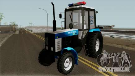 MTZ-80 Biélorussie Police pour GTA San Andreas