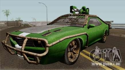 Bravado Gauntlet Weaponized GTA V für GTA San Andreas