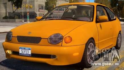 Toyota Corolla G6 Compact US pour GTA 4