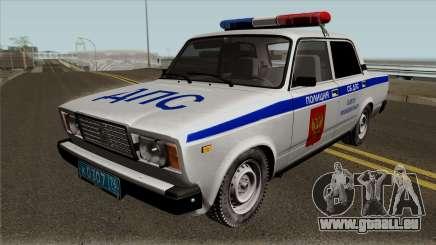 VAZ-2107 de Police de la ville de Yaroslavl pour GTA San Andreas