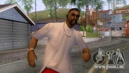 Crips & Bloods Ballas Skin 10 pour GTA San Andreas