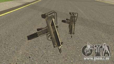 HD Micro Uzi (With HQ Original Icon) für GTA San Andreas