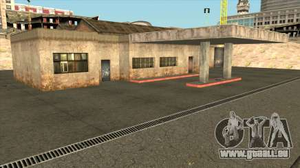 Doherty Garage Retextured pour GTA San Andreas