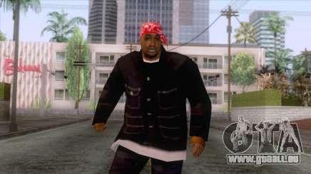 Crips & Bloods Ballas Skin 2 pour GTA San Andreas