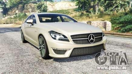 Mercedes-Benz CLS 63 AMG (C218) v1.3 [replace] pour GTA 5