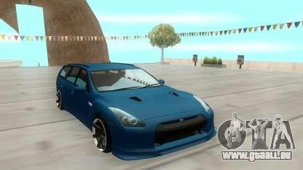 Nissan Stagea M35 pour GTA San Andreas