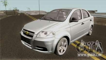 Chevrolet Aveo 2007 v2.0 pour GTA San Andreas