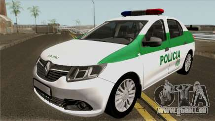 Renault Logan Policia Colombia pour GTA San Andreas
