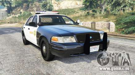 Ford Crown Victoria Sheriff CVPI [replace] pour GTA 5