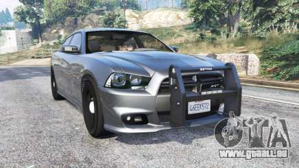 Dodge Charger SRT8 (LD) Police v1.2 [replace] pour GTA 5
