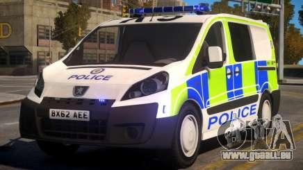 Police Peugeot Expert Cell Van pour GTA 4