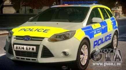 Police Ford Focus Estate IRV TFL Version für GTA 4