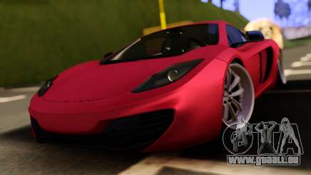 McLaren MP4-12C Low Japan Stance pour GTA San Andreas