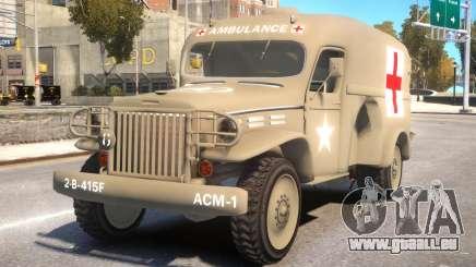 World War II Ambulance für GTA 4