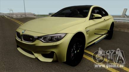 BMW M4 GTS HQ pour GTA San Andreas