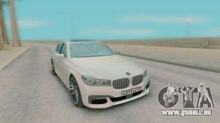 BMW 7-er G11 2015 pour GTA San Andreas