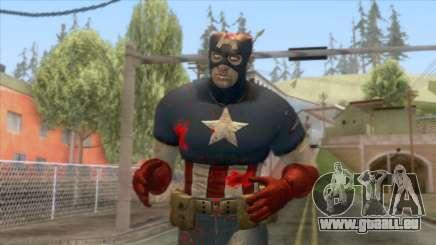 Marvel Zombies - Coronel America für GTA San Andreas