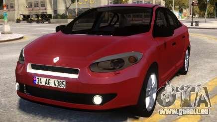 Renault Fluence pour GTA 4