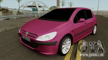 Peugeot 307 für GTA San Andreas