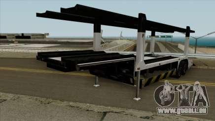 Remorque porte-voitures pour GTA San Andreas