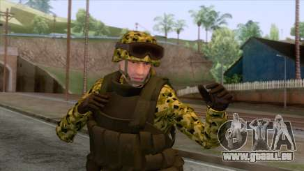 Sweden Army Skin pour GTA San Andreas