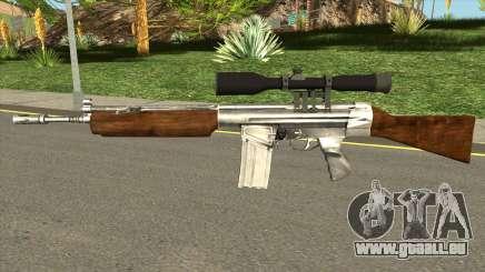 HK G3 Wood für GTA San Andreas