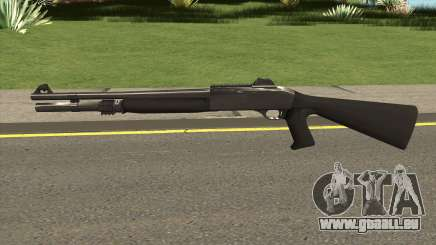 Shotgun Grey Chrome pour GTA San Andreas