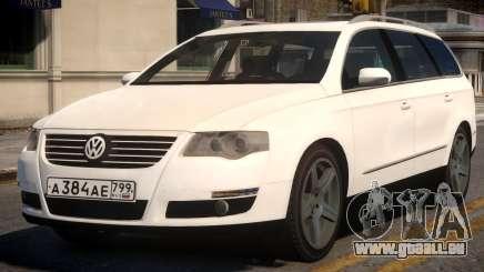 Volkswagen Passat Variant 2010 v2 pour GTA 4