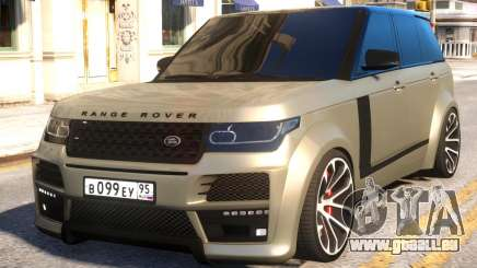 Range Rover Vogue Tuning pour GTA 4
