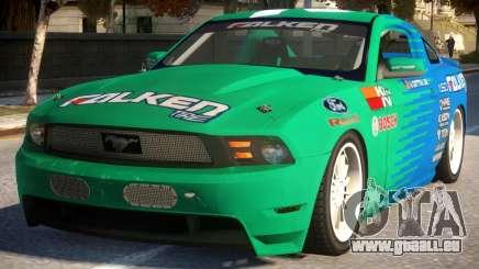 Mustang Vaughn Gittin pour GTA 4