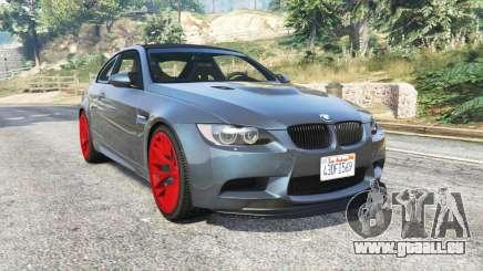 BMW M3 GTS (E92) 2010 real taillight [add-on] für GTA 5
