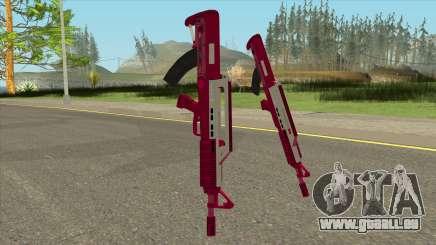 Bullpup Rifle Pink GTA V für GTA San Andreas