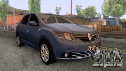 Renault Symbol 2013 Touch pour GTA San Andreas