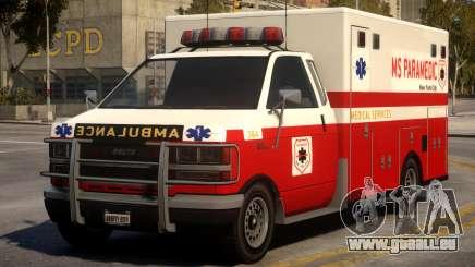 Ambulance Real New York für GTA 4