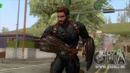 Marvel Future Fight - Capatin America für GTA San Andreas