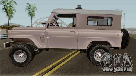 Nissan Patrol 1978 pour GTA San Andreas laissé vue