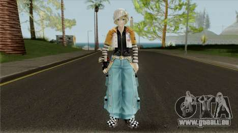 Gods Eater 2: Rage Burst - Romeo Leoni für GTA San Andreas zweiten Screenshot