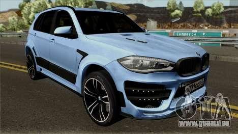 BMW X5M Regendage für GTA San Andreas Innenansicht