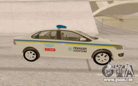 Volkswagen Polo (Ukraine) pour GTA San Andreas vue de droite