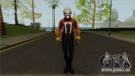 Robert Reys Ghost Rider From Avengers Academy pour GTA San Andreas
