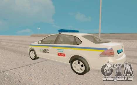 Volkswagen Polo (Ukraine) pour GTA San Andreas laissé vue