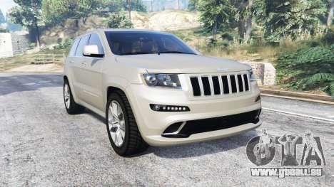 Jeep Grand Cherokee SRT8 (WK2) 2013 [replace] pour GTA 5