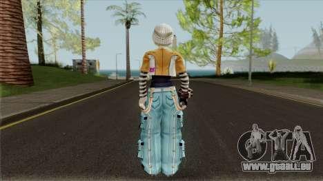 Gods Eater 2: Rage Burst - Romeo Leoni für GTA San Andreas dritten Screenshot