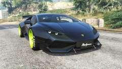 Lamborghini Huracan LibertyWalk v1.2 [replace] pour GTA 5