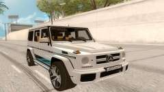 Mercedes-Benz G63 AMG Rus Plate pour GTA San Andreas