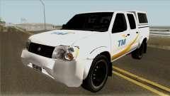 Nissan Navara Pickup Telekom Malaysia pour GTA San Andreas